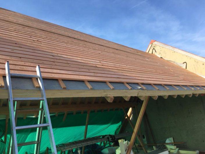 Bestek in Brussel voor dakwerken