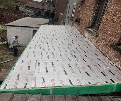 Entreprise Lievens - Isolation de toiture à Bruxelles