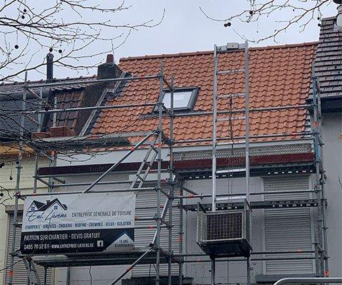 Entreprise Lievens - Rénovation de toiture à Bruxelles