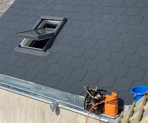 Entreprise Lievens - Installation de fenêtres de toit Velux à Bruxelles